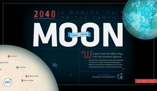 moon_worlds_fair.jpg (JPEG Image, 1377x800 pixels) #santa #jason #design #worlds #fair #maria #type #web #lost