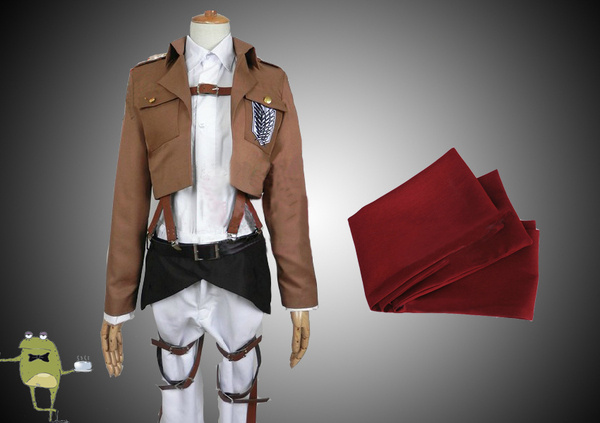 Attack on Titan Mikasa Ackerman Cosplay Costume Scouting Legion #cosplay #costume #mikasa #ackerman