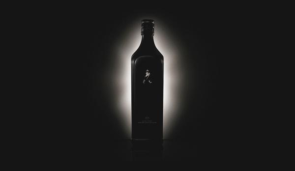 Johnnie Walker Black Label, Single Composition #design #web #black