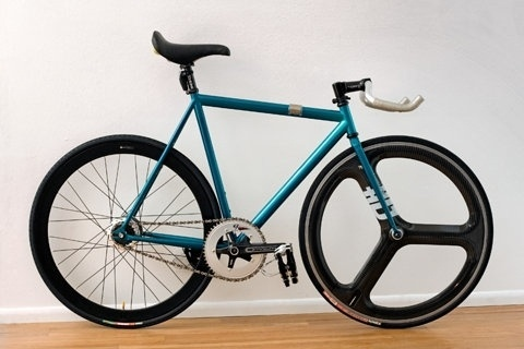 FFFFOUND! | Teal Affinity Lo Pro - Pedal Room #hed3 #bikes #fixed #gear #track