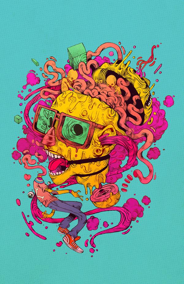 COLERA #illustration #color