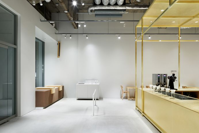 Blue Bottle Coffee Kobe Cafe by Schemata Architects