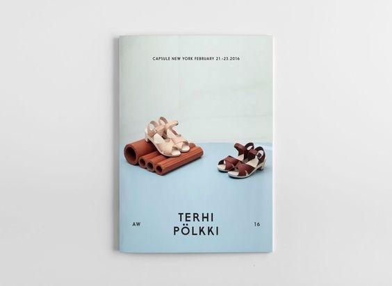 Terhi Pölkki A/W 2016 look book. Design Tony Eräpuro #lookbook #fashion #finland #shoes #layout