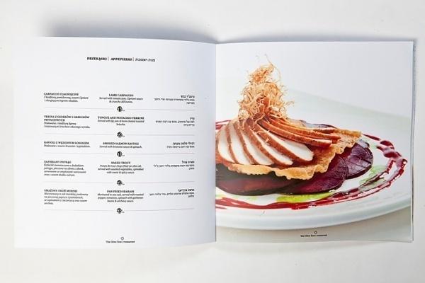 Art of the Menu: The Olive Tree Restaurant #print #design #menu #restaurant #food photography