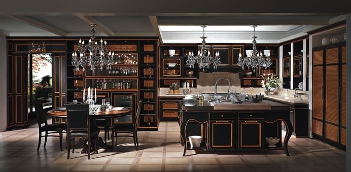 Excelsa kitchen - handcrafted kitchen brings together traditional and contemporary style - www.homeworlddesign (6) #kitchen #traditional #italy #modern