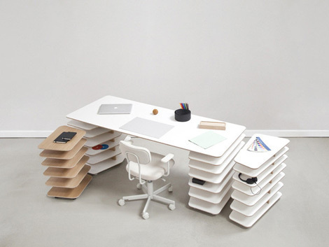 Strates System #furniture #design #table