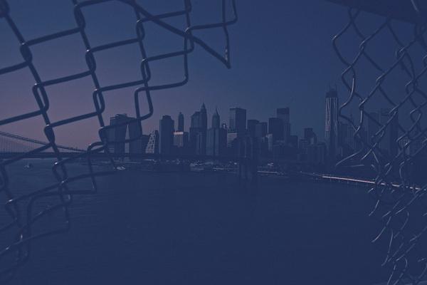 by peer runge #york #blue #city #new
