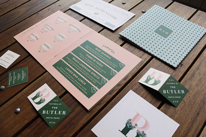 The Butler #menu