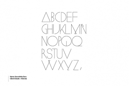 Face. #sans #geometric #typography