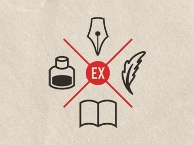 Dribbble - Ex Libris Anonymous gets cresty by Lael Tyler #logo