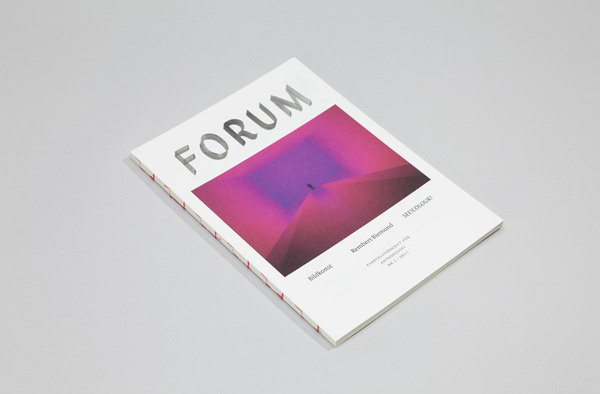 Forum #cover #binding #magazine