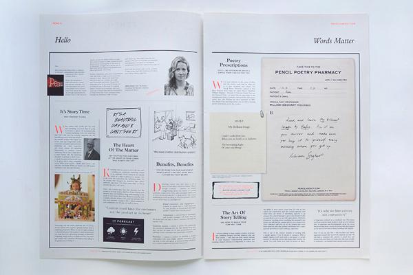 Pencil – Pencil Post by Chloe Galea #print #newspaper