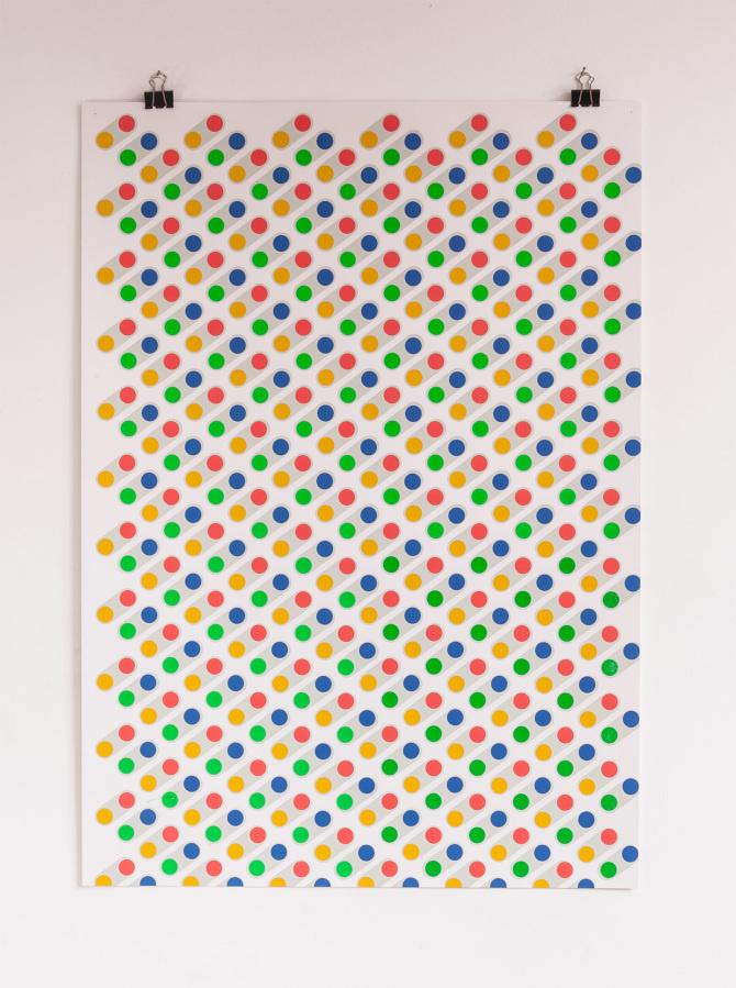 PrintMakingMoneyGang  5 color screenprint inspired by Notorious BIG's Juicy #gezeever #screenprint #antwerp