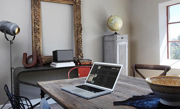 Allroom Air One | Audio Pro #interior #macbook #sweden #apple #speaker #airplay #wireless #loudspeaker #air #design #allroom #one #audio #pro #decoration