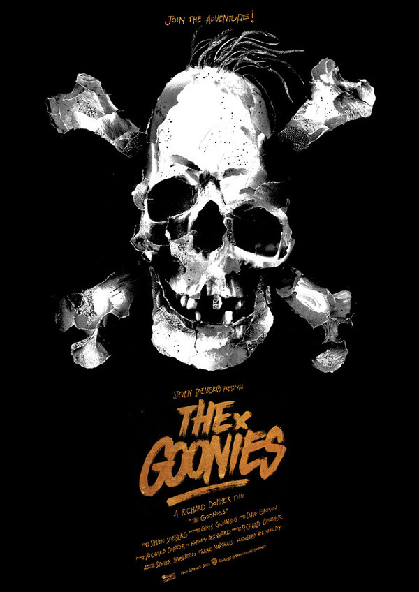 The Goonies Benny #movie #goonies #benny #hennessy #illustration #poster #collage
