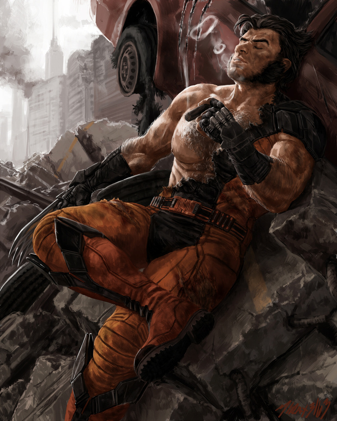 I'm the best at what I do by Mirax3163 #illustration #wolverion #xmen