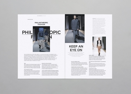 Brunswicker – Recent Projects Special | September Industry #print #design #layout #typography