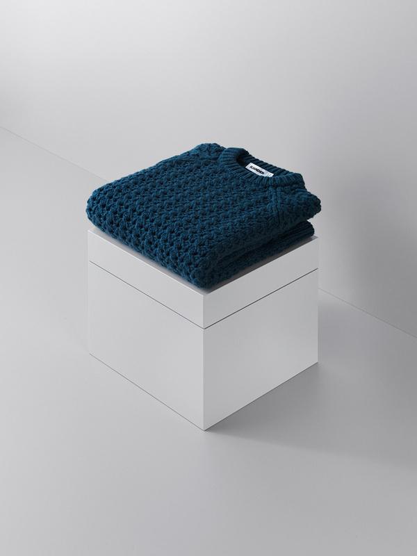 lernert & sander transform high end knitted garments into balls of yarn #undone