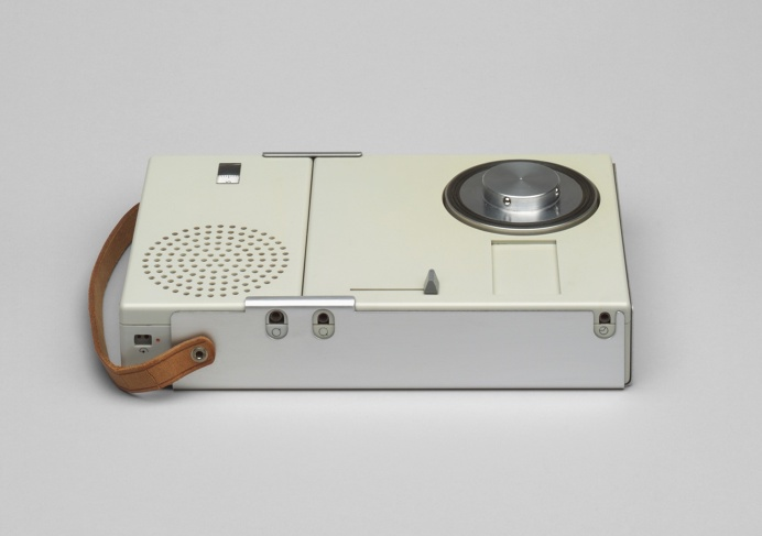 Portable Transistor Radio and Phonograph, Dieter Rams