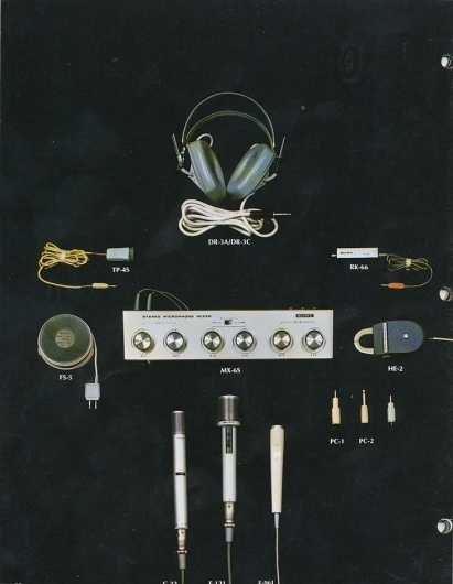 The Collective Loop #advertising #microphone #1960s #ad #poster #music #mixer