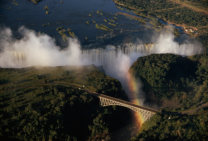 Victoria Falls in Zambia.Photograph by Walter Meayers Edwards, National Geographic Creative
