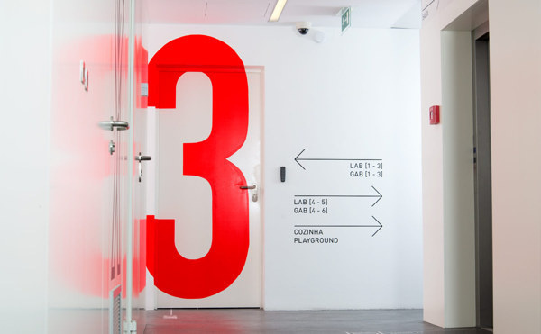 Signage and Wayfinding for Innovation Center on Behance #graphics #finding #wall #way