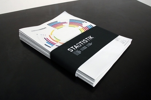 Stadtistik - City Statistics on the Behance Network #editorial #design #graphic #book