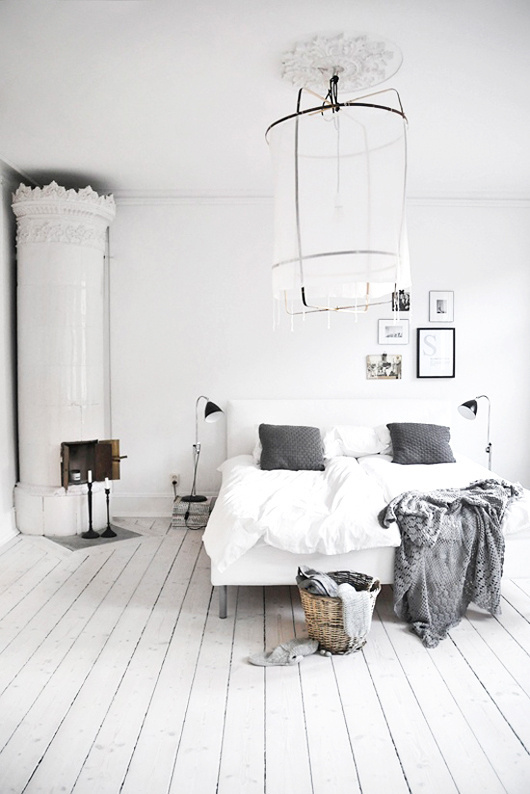 white bedroom #interior #design #decor #bedroom #deco #decoration