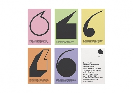Collate #cards #identity #business #typography