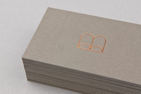 Boabel | MAUD #stamp #business #card #print #gold #foil