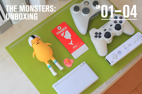 *_* #design #color #video #plastic #monster #game #toy