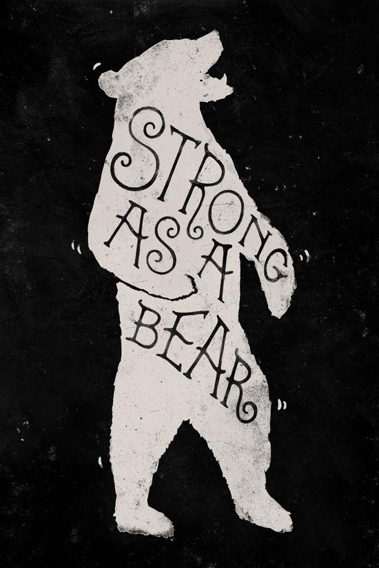Strong As A Bear by WEAREYAWN