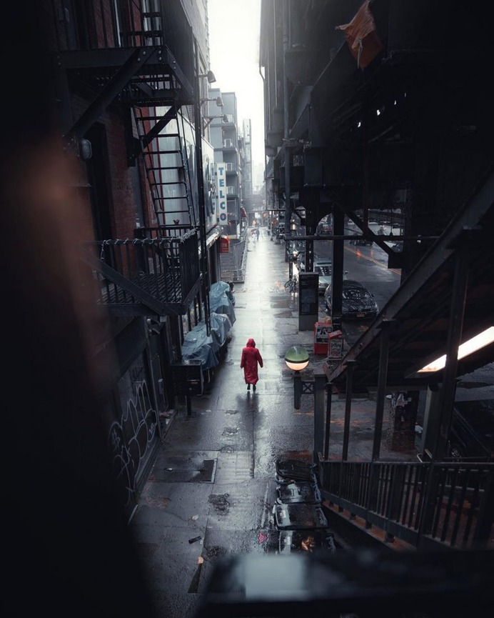 Moody and Cinematic Street Photography by Billy Dee