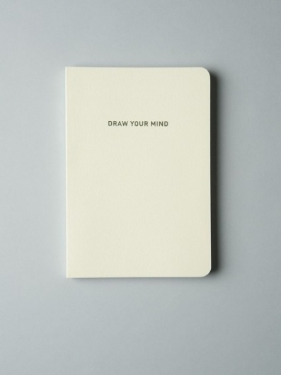 'Draw Your Mind' Notebook by MMMG - Douglas + Bec #note #book