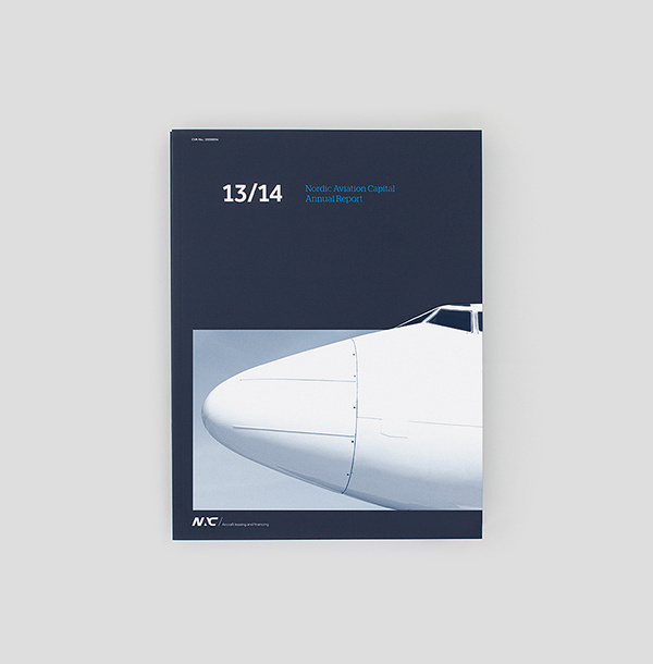 NAC - Annual Report on Behance #annual report #print #graphic