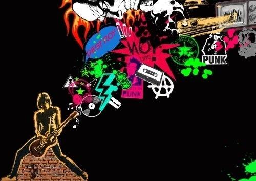 Más tamaños   Punk world   Flickr: ¡Intercambio de fotos! #illustration #design #punk #board