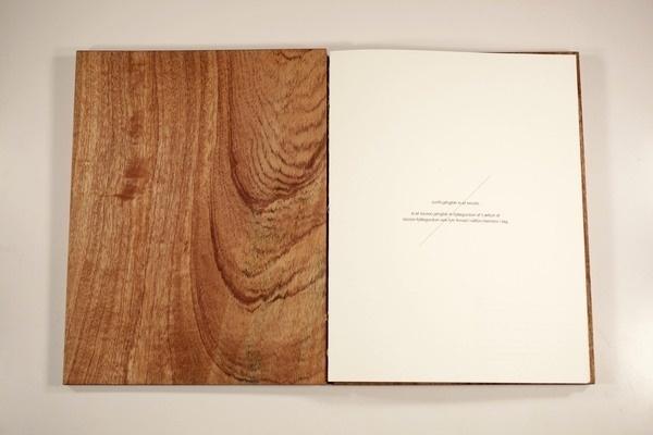 https://www.behance.net/gallery/001/3743283 #wood #book