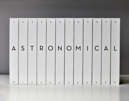Astronomical, The Solar System Represented Across... #design #graphic #publication