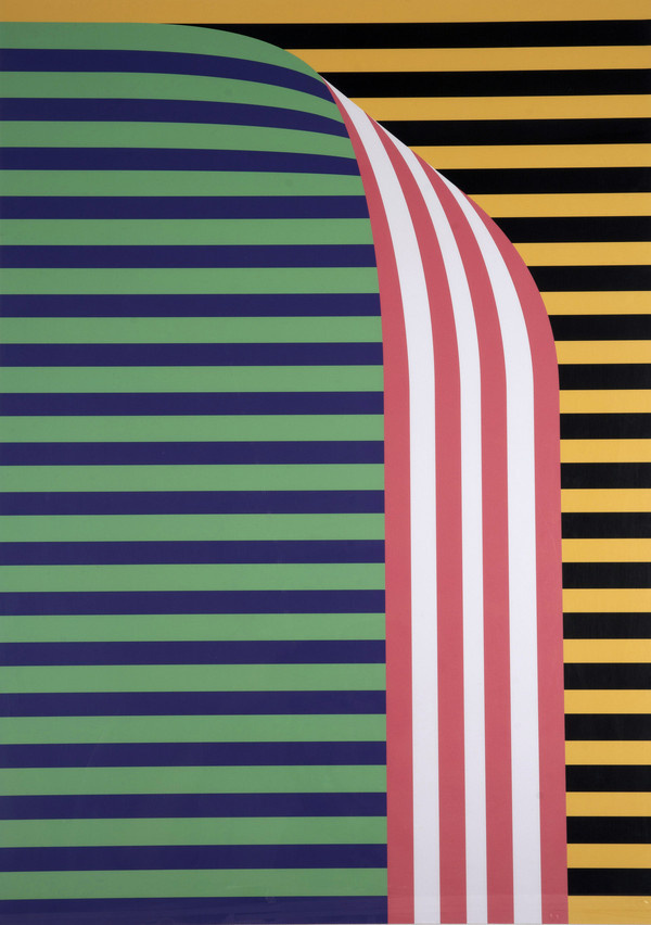 Hey: Fold / £35.00 #hey #frame #a2 #print #wall #minimal #poster #art #colour