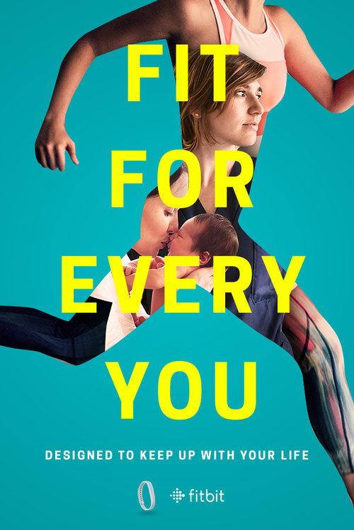Fitbit Ad #advertising #print #design