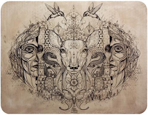 David Hale #illustration #ink #sketchbook