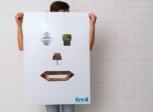 Fred International | Identity Designed #poster #print #branding