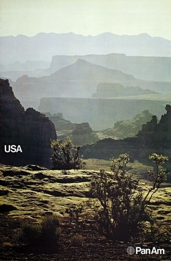 Pan Am's World: USA | Flickr - Photo Sharing! #usa #glaser #poster #milton