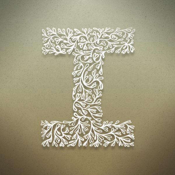 Botanical Alphabet on Typography Served #type #lettering
