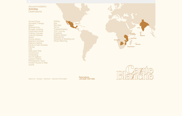 Carte Blanche — Ideas Factory #infographics #map
