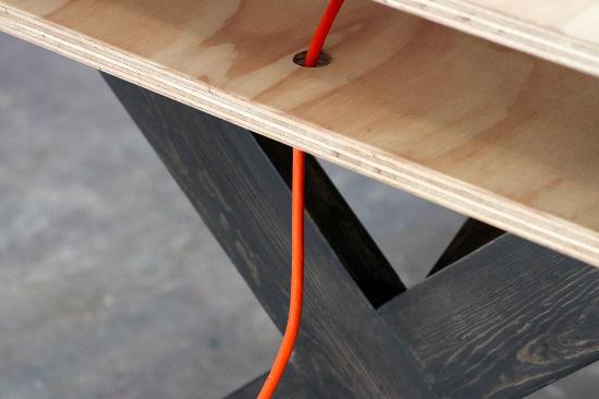 Work Table 02 Series Miguel de la Garza #furniture #design
