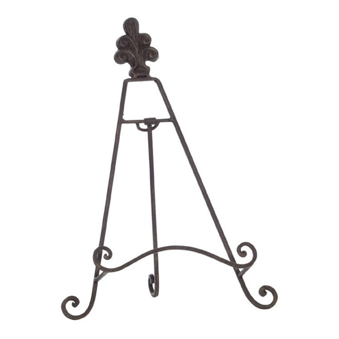 Enfield Rust Iron Easel, 32 cm
