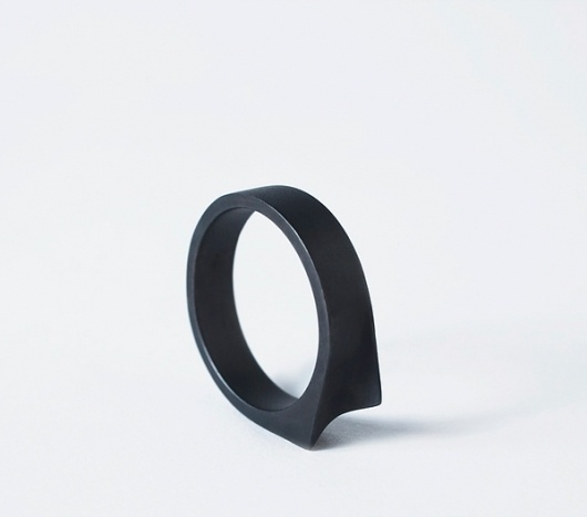 Numbers on the Behance Network #ring #dark #black #jewelry