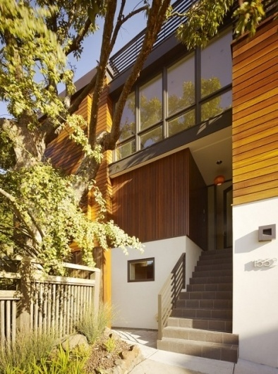 WANKEN - The Blog of Shelby White » Cole Valley Hillside Residence #san #wood #architecture #francisco #valley #residence #cole