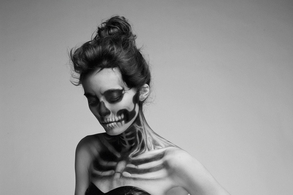 She has waited too long on the Behance Network #white #black #people #photography #and